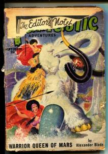 Fantastic Adventures-Pulps-9/1950-Alexander Blade-Walt Sheldon