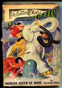 Fantastic Adventures-Pulps-9/1950-Alexander Blade-Walt Sheldon