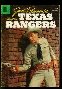 Jace Pearson's Tales of the Texas Rangers #12 1956- Dell Western- VG