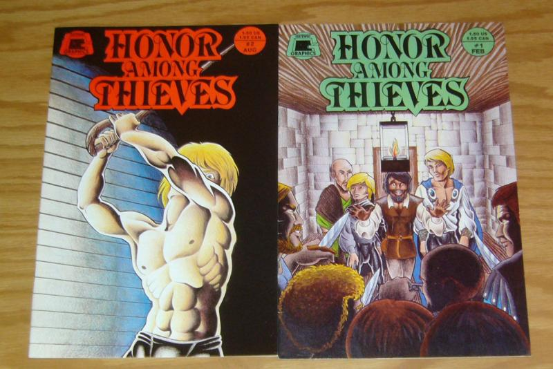 Honor Among Thieves #1-2 VF/NM complete series - gateway graphics - indy comics