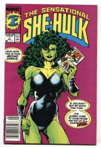 SENSATIONAL SHE-HULK #1 1989-First issue comic book