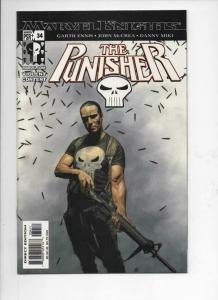 PUNISHER #34, NM, Garth Ennis, 2001 2003, Frank Castle, Blood, Marvel