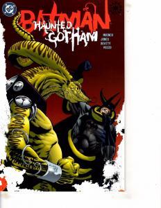 Lot Of 2 DC Comic Books Batman Haunted Gotham #3 and #4 Superman ON13