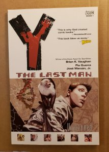 Y THE LAST MAN BOOK 1 UNMANNED TPB SOFT COVER GRAPHIC NOVEL 6TH PRINTING NM