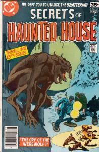 Secrets of Haunted House #13 (Sep-78) NM- High-Grade Werewolf