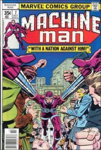Marvel MACHINE MAN (1978 Series) #7 FN+