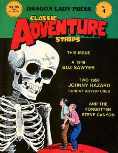 Classic Adventure Strips #4 FN; Dragon Lady | save on shipping - details inside
