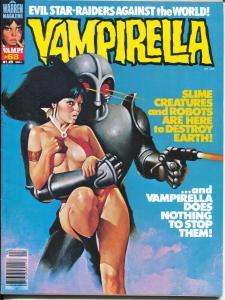 Vampirella #68 1978-Warren-cover similar to Startling Stories 1/1950-VG
