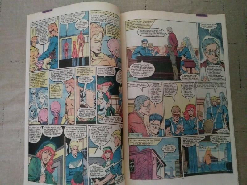 X-Factor #5 (1986) FIRST CAMEO APPEARANCE OF APOCALYPSE key issue