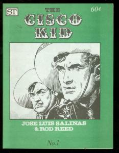 CISCO KID #1 1973-JOSE LUIS SALINAS-COMIC STRIP REPRINT -VF/NM