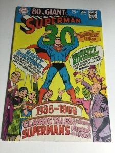 Superman 207 Vg Very Good 4.0 DC Comics