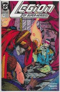 Legion of Super-Heroes (vol. 4, 1989) # 14 VG/FN Bierbaum/Giffen