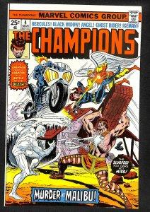 The Champions #4 (1976)