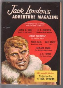 Jack London's Adventure #1 10/1958-1st issue-Hemingway-Poul Anderson-VF