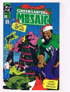 Green Lantern: Mosiac #9 VG/FN DC Comics Comic Book Jones Feb 1993 DE39 AD12
