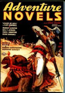 Adventure Novels 7/1937-High Adventure-pulp reprint-Legion of Hell-NM