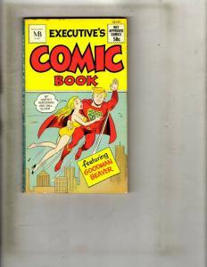 Executive's Comic Book Macfadden Books Goodman Beaver Kurtzman Elder 50-159 JK1