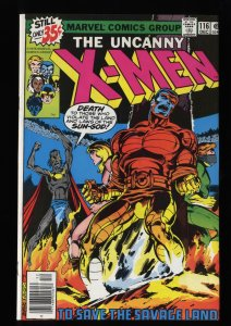 X-Men #116 NM 9.4 White Pages
