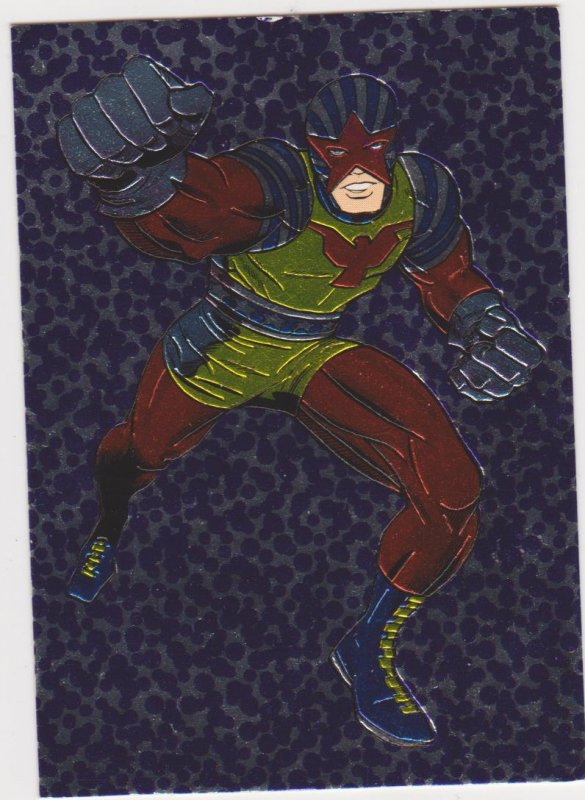 1993 Topps Comics Kirbychrome #1 Captain Glory