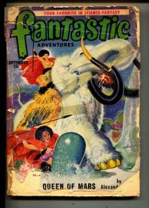 Fantastic Adventures-Pulp-9/1950-Alexander Blade-August Darleth