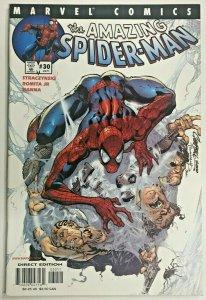 AMAZING SPIDER-MAN#30 VF/NM 2001 J SCOTT CAMPBELL MARVEL COMICS