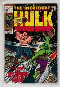 INCREDIBLE HULK (1962 MARVEL) #125 VG/FN A02099