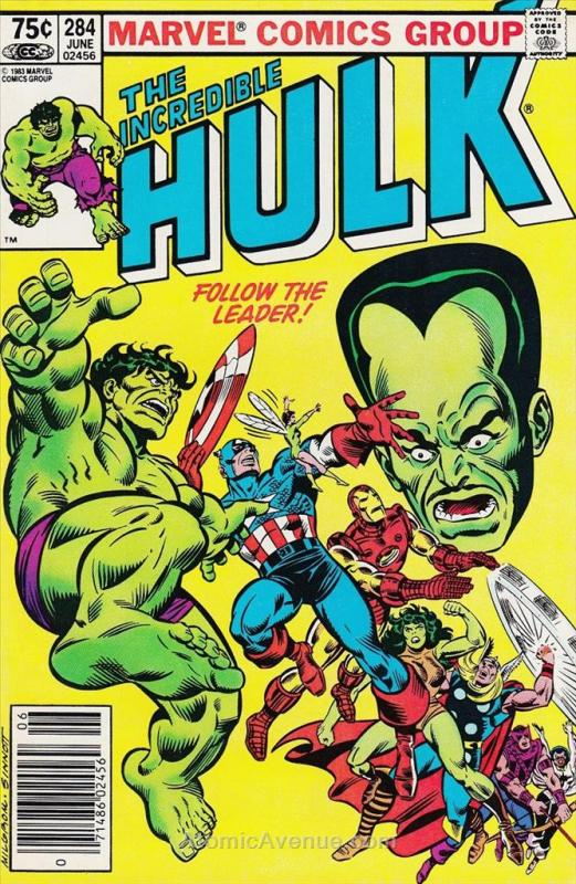 Incredible Hulk, The (Canadian Edition) #284 VF Marvel - save on shipping - deta