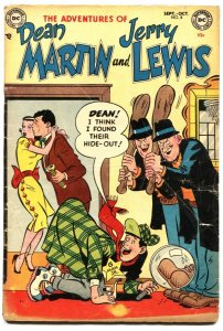 ADVENTURES OF DEAN MARTIN AND JERRY LEWIS #8-1953-SHERLOCK HOLMES-OZZIE & HARRIE