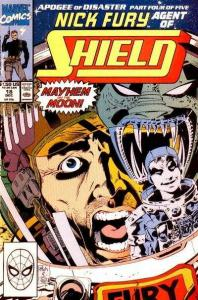 Nick Fury: Agent of SHIELD (1989 series) #18, NM- (Stock photo)