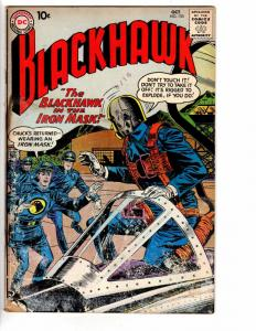 BLACKHAWK 153 GOOD October 1960
