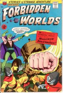 FORBIDDEN WORLDS 137 VG  August 1966 COMICS BOOK