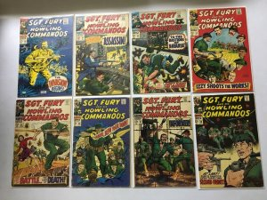 Silver Age from:#3-91 & ANN1,3,4 58 different avg 4.0 VG (1964-71)