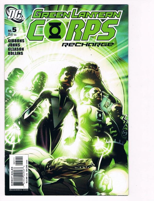 green lantern corps recharge 5 dc comic books awesome issue modern