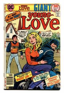 Young Love #121 1976  comic book DC Romance- Motorcycle cover