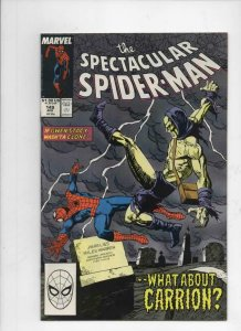 Peter Parker SPECTACULAR SPIDER-MAN #149 VF/NM, Carrion 1976 1989 more in store