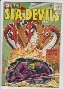 Sea Devils #6 (Aug-62) FN/VF High-Grade Sea Devils (Dane Dorrence, Biff Baile...
