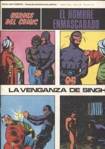 Hombre Enmascarado/Phantom de Burulan SOLO CUBIERTA nº 08: La venganza de Singh
