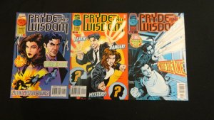 Pryde and Wisdom #1 2 3 Volume 1 #1-3 1996