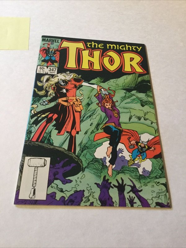 Thor 347 Nm- Near Mint- First Appearance Of Kurse Marvel Comics