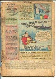 Captain Marvel Adventures #46 1945-Fawcett-Mr Mind-Final Monster Society Of E...