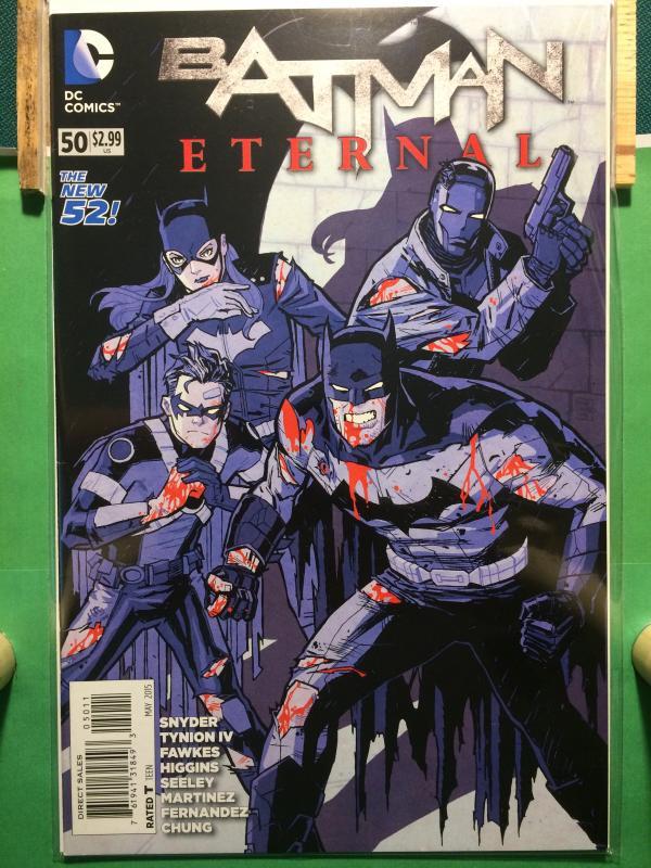 Batman Eternal #50 The New 52