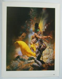 Richard Corben fantasy poster - 24 x 19 - tundra 1993
