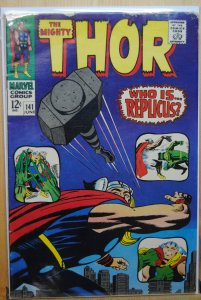 Thor #141 (1967) Silver Age !!!