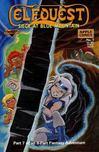 Elfquest: Siege at Blue Mountain #7 FN; Apple | save on shipping - details insid