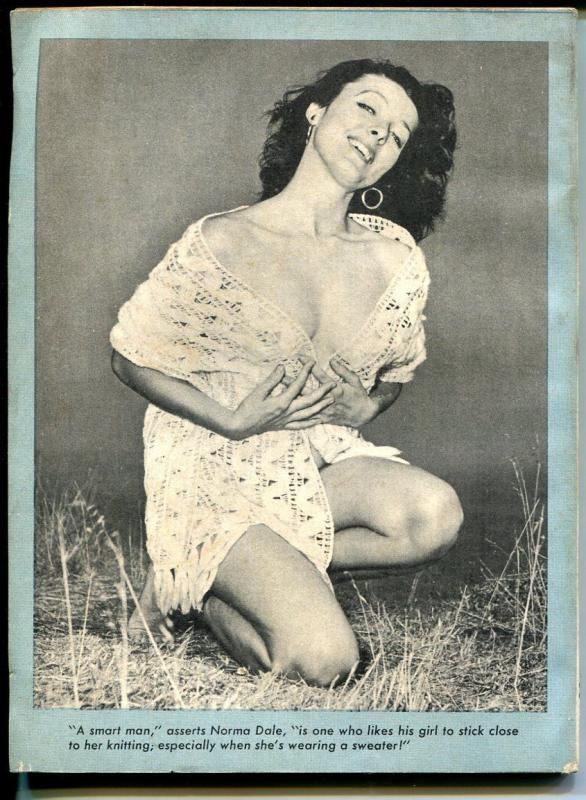 Breezy #4 8/1954-Humorama- Ward-Wenzel-Tempest Storm-Dianne Webber-FN