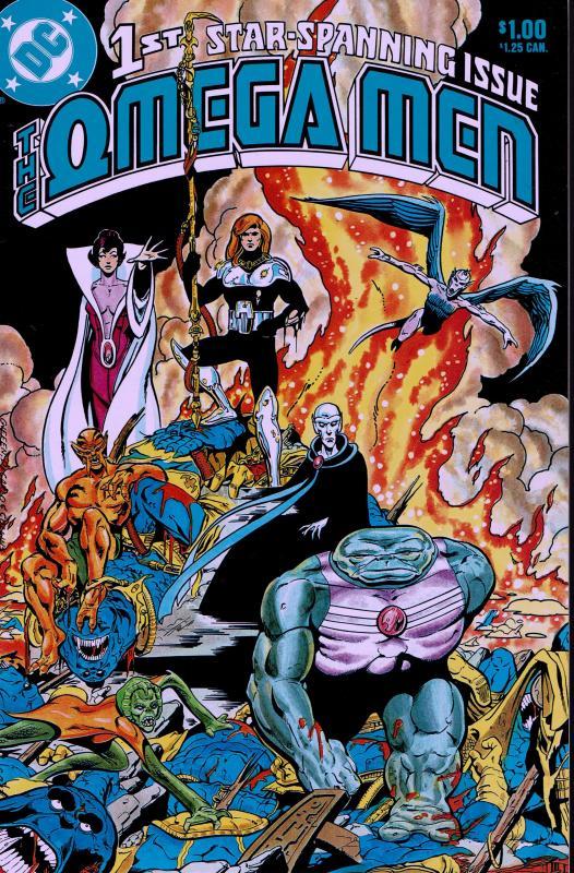 Omega Men #1 - NM - 1983