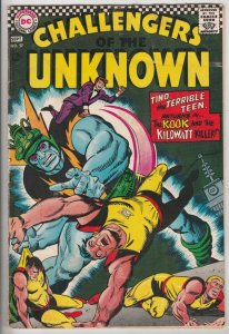 Challengers of the Unknown #57 (Sep-65) VG Affordable-Grade Challengers of th...
