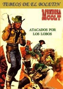 Los Tebeos de El Boletin numero 176. Mendoza Colt: atacada por los lobos