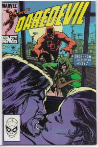 Daredevil   vol. 1   #204 FN O'Neil/McDonnell, Sienkiewicz cover
