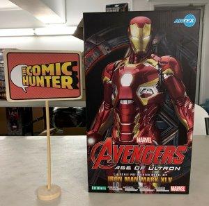Kotobukiya Artfx Marvel Avengers Age of  Iron Man Mark XLV Pre-Painted Model Kit